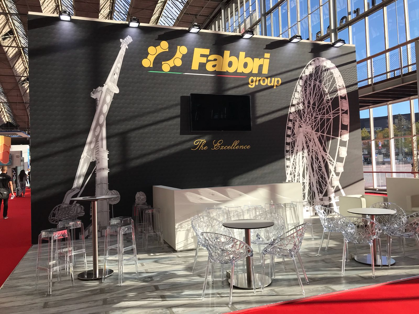 Exhibition Stand Water : Eas paris fabbri group